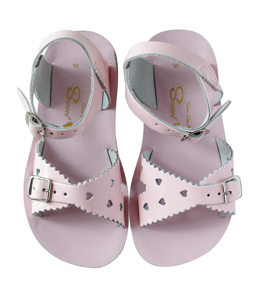 Salt Water Sandals Sun-San Sweetheart Shiny Pink