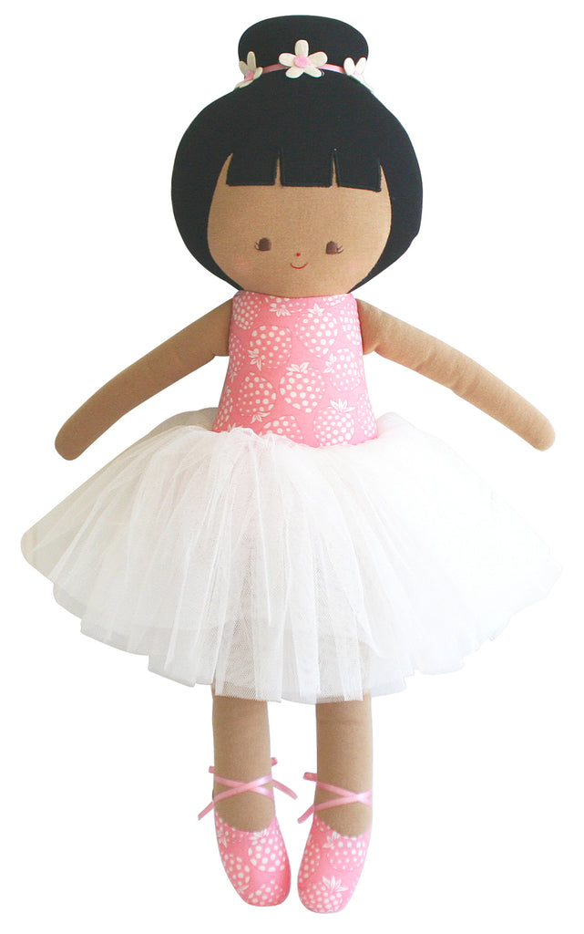 Alimrose Big Ballerina Strawberry Pink 50cm