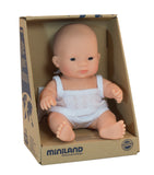 Miniland Baby Doll - Asian Girl 21cm