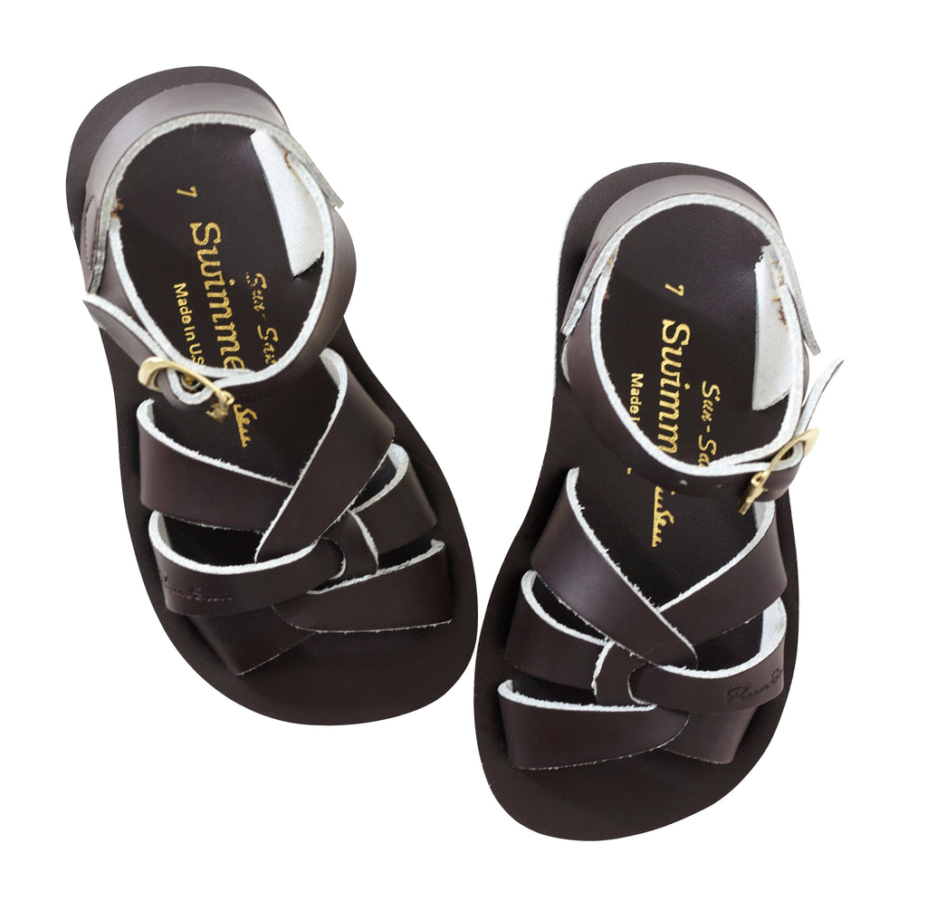 Salt Water Sandals Sun-San Swimmer Brown