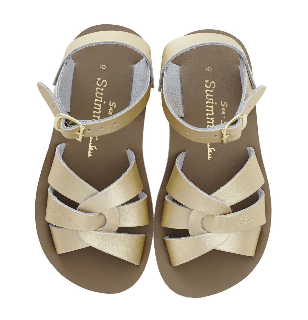 Salt Water Sandals Sun-San Swimmer Gold
