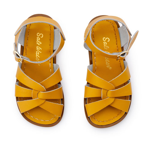 Salt Water Sandals Sun-San Shark White