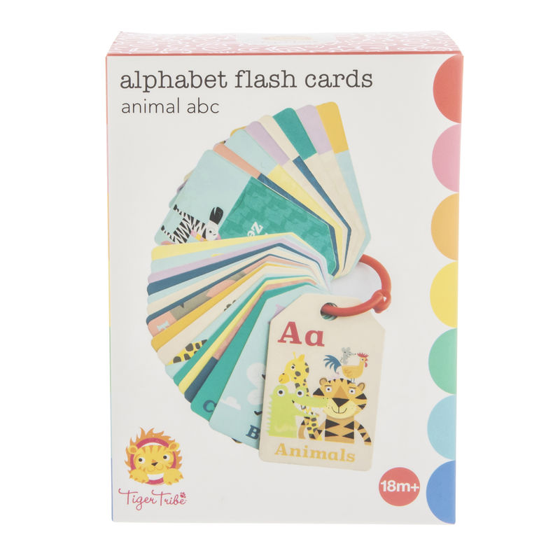 Tiger Tribe Flash Cards- Animal ABC