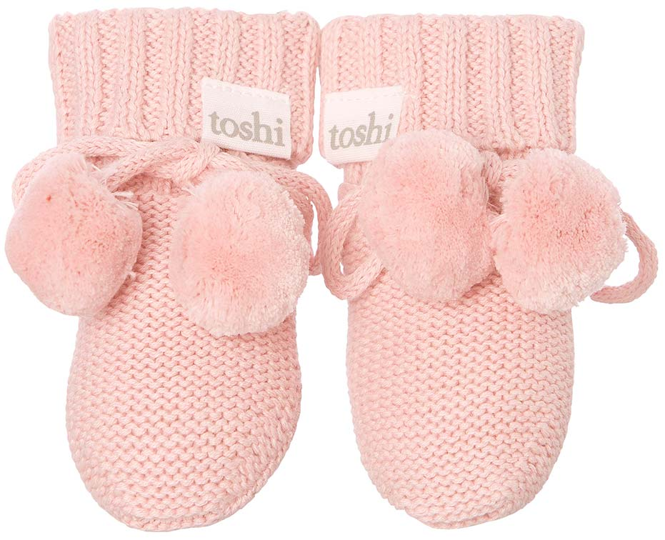Toshi Organic Baby Booties Cashmere