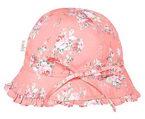 Toshi Bell Hat Pretty Cherry