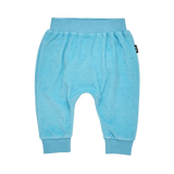 Rock Your Baby Terry Towelling Baby Trackpants - Blue