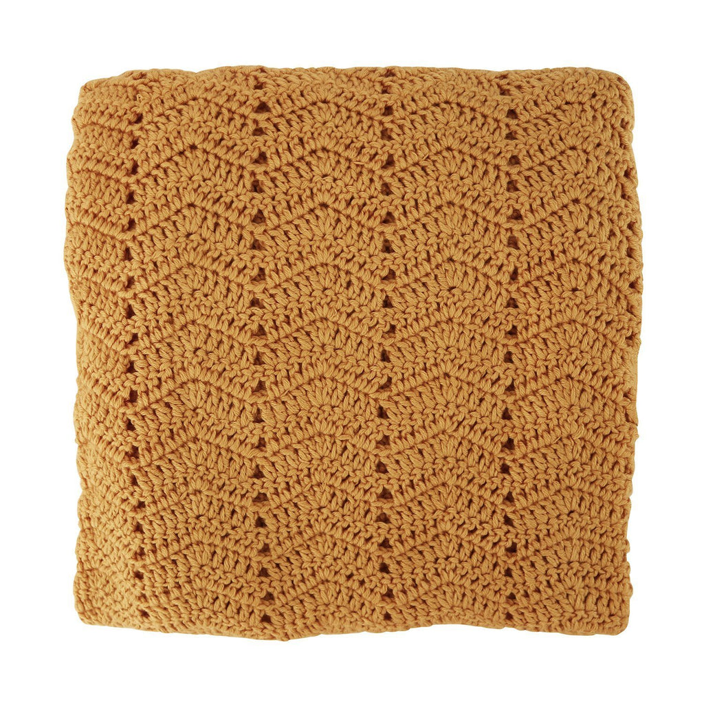 OB Designs Crochet Baby Blanket Homemade Cinnamon