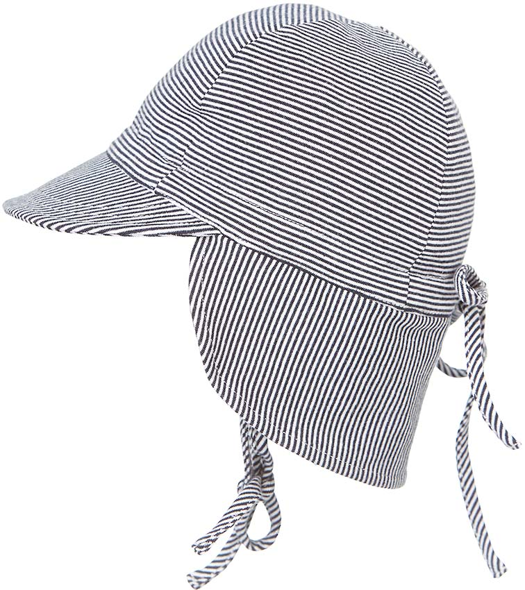 Toshi Flap Cap Baby Periwinkle