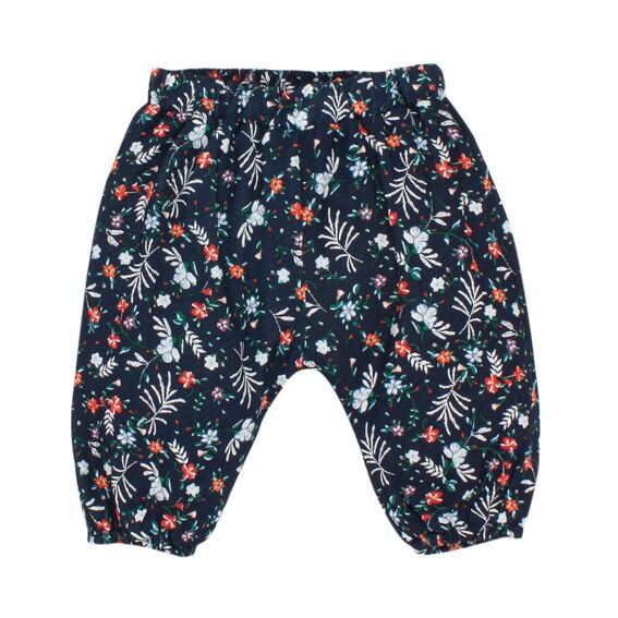 Fox & Finch Folk Floral Print Pant