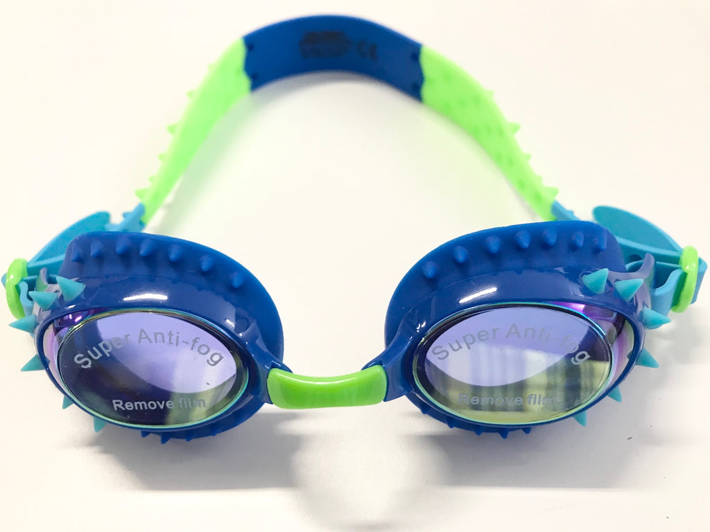 Bling2o Swim Goggles Nelly - Rock Lobster Royal Blue Spikes