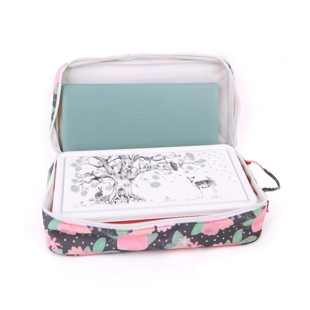 Love Mae Cooler Bag With Ice Brick - In Bloom