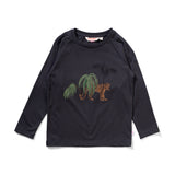 Missie Munster Big Cat T-Shirt LS T-Shirt - Soft Black