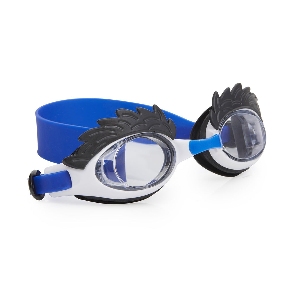 Bling2o Swim Goggles Uncle Hairy - Furry White