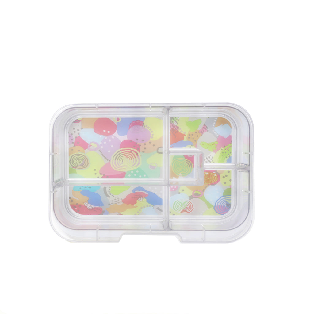 Munchbox Midi5 Artwork Tray (Pastel)
