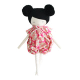 Alimrose Meg Romper Doll - Black Hair 35cm