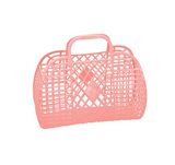 IS Gift Sun Jellies Retro Basket Small - Peach