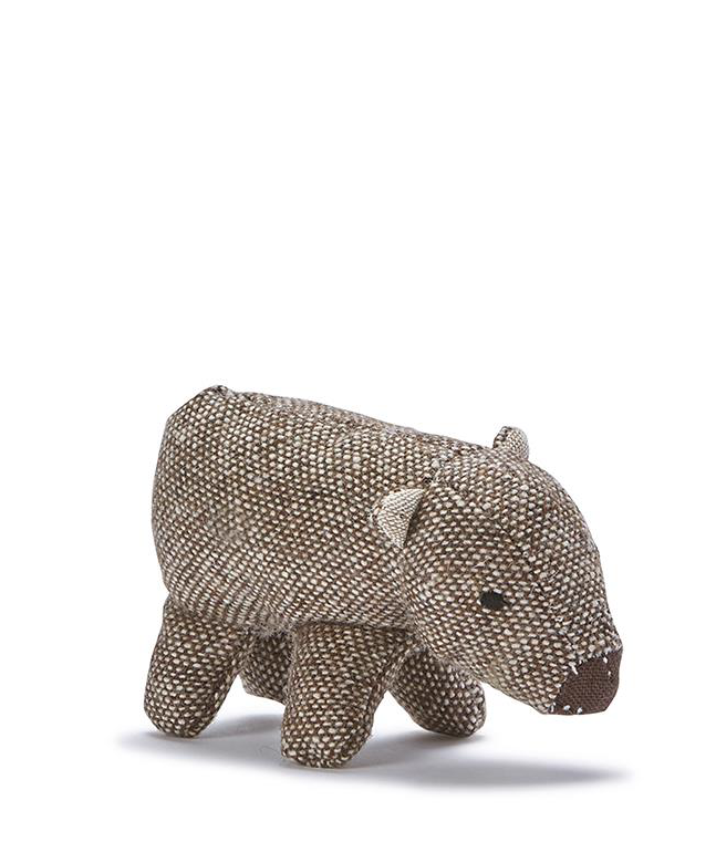 Nana Huchy Mini Wally Wombat Rattle