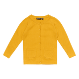 Rock Your Baby Cardigan - Mustard