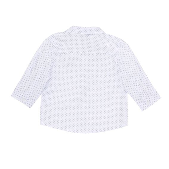 Bebe Charlie Print Shirt- Cloud