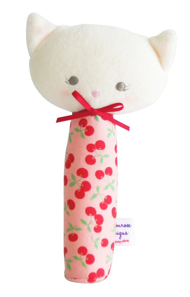 Alimrose Kitty Squeaker- Cherry Yum
