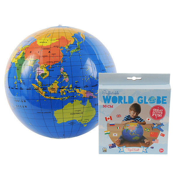 Tiger Tribe World Globe Small 30cm