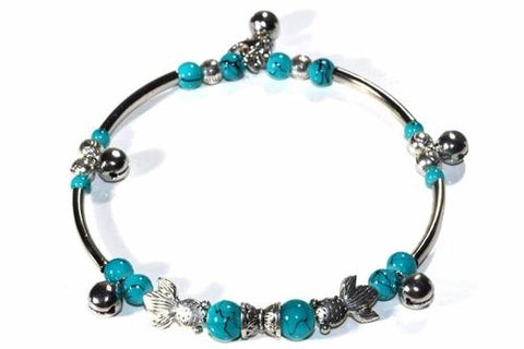 Fish Charm Bracelet - A Horizon Dawn