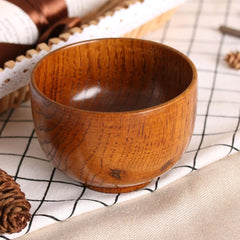 Green Smokey Home & Garden Natural Round Wood Bowls