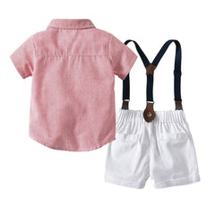 AHD Toddler Boy Clothes Summer Children Clothing