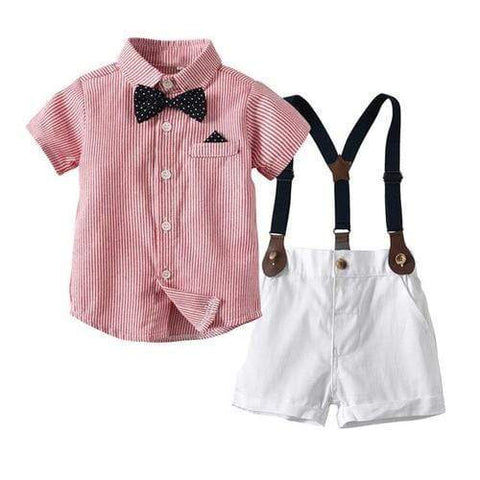 Ivory Amphitryon Kids & Babies Red / 12M AHD Toddler Boy Clothes Summer Children Clothing