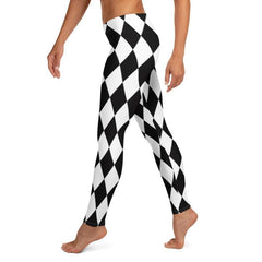 Harlequin Diamond Leggings, Capris, Shorts