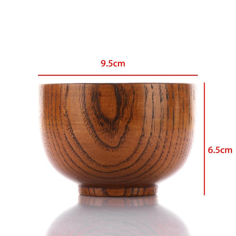 Natural Round Wood Bowls - A Horizon Dawn