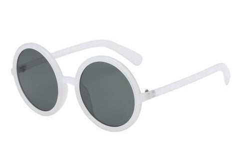 Olive Missy Sunglasses White AHD Kara Sunglasses