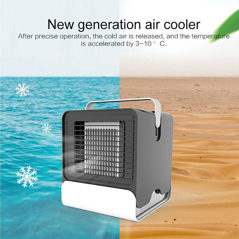 Teal Simba Air Conditioner A USB Portable Air Conditioner Air Purifier Air Humidifier