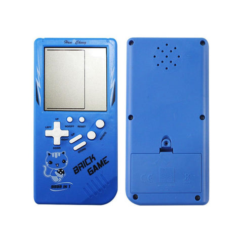 Teal Simba Toys Retro Childhood Tetris Handheld Game Player Blue