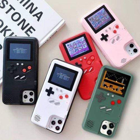 White Libra Tech Accessories Navy Green / iPhone 11 Retro Nostalgic Gaming 36 Color Games iPhone Case
