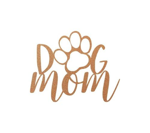 Yellow Bella Home & Garden 15 / Copper Dog Mom Home Decor
