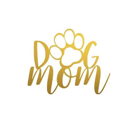 Yellow Bella Home & Garden 15 / Gold Dog Mom Home Decor