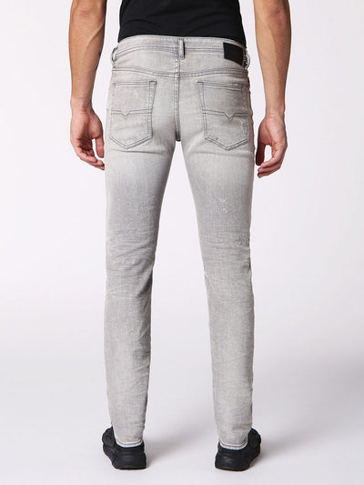 Diesel Buster Slim-Tapered Leg Jeans in 0699J