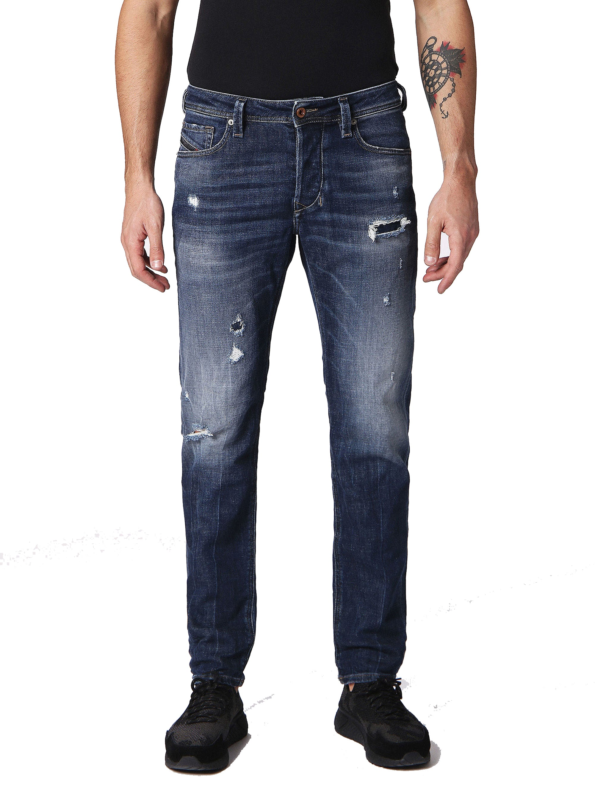 Diesel Larkee Straight Leg Jeans in 084QT