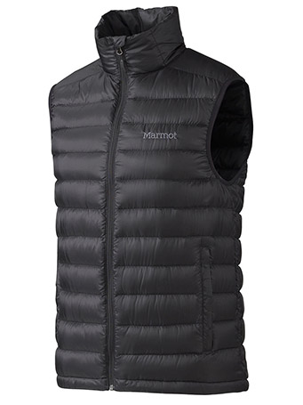 Marmot Zeus Down Vest in Black 71670
