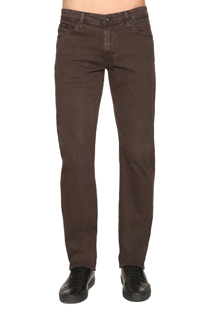 AG Jeans The Graduate Tapered Pants in Sulfer Bitter Chocolate 1174SUD SULBCE