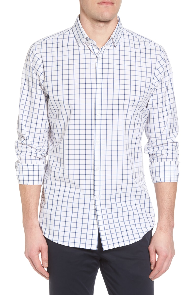 Mizzen+Main Bowie Button Down Shirt L-7012