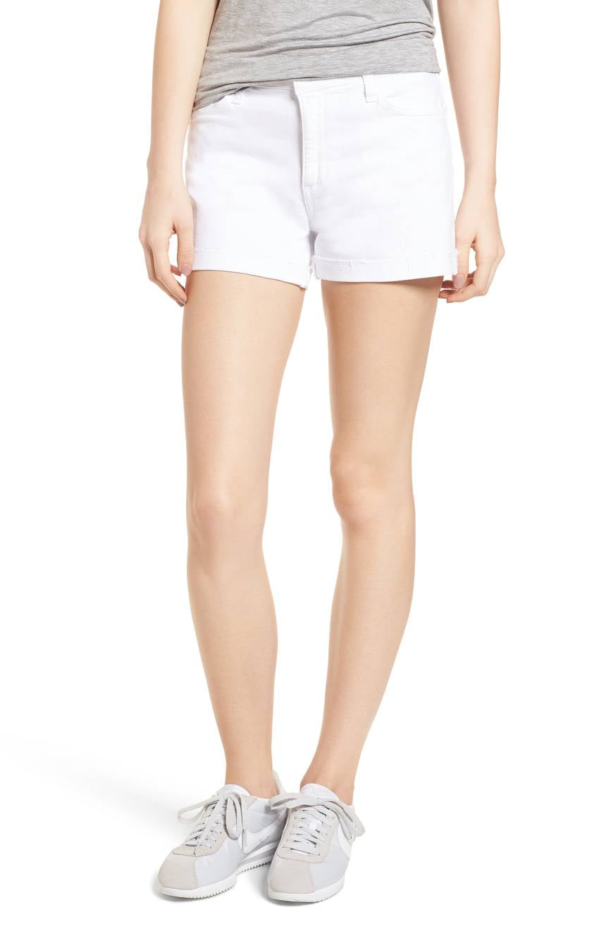 PAIGE Womens Jimmy Denim Short-Optic White Paige Women/'s Collection 1226274