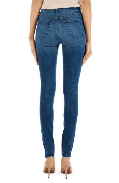 J Brand Carolina Super High Rise Skinny in Static JB001205