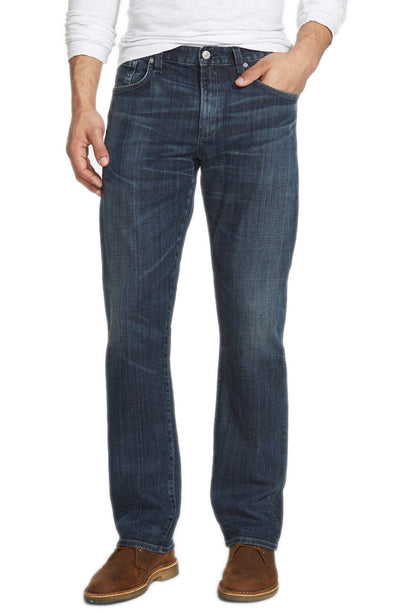 Citizens of Humanity Perfect Casual Straight Leg Jeans in Rockford Wash 6025J-132