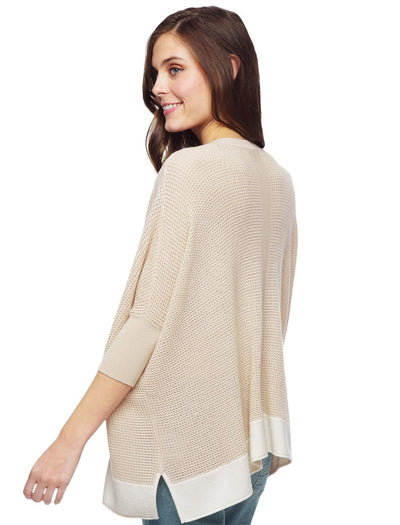 Splendid Cruz Colorblock Pullover Sweater SE6131