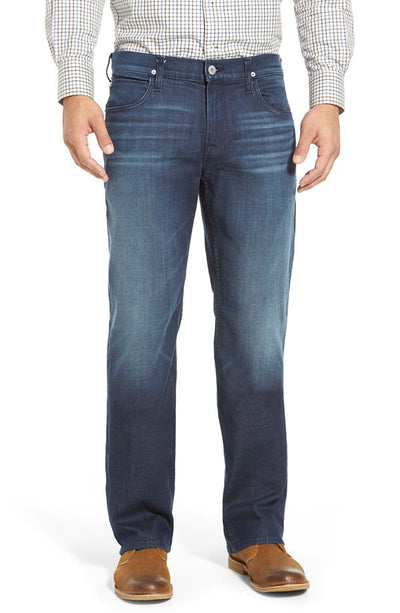 Hudson Wilde Relaxed Straight Leg Jean in Reverb Wash M655ZDCZ