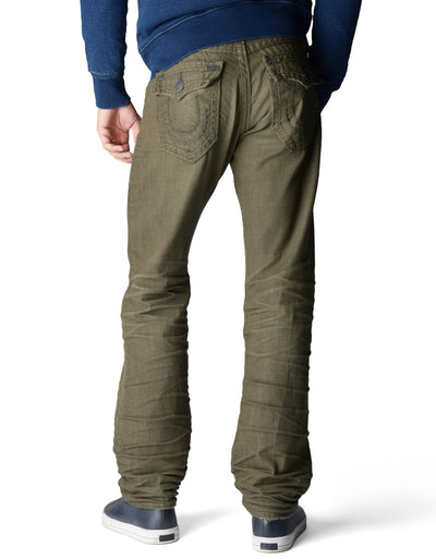 True Religion Ricky Straight Olive Colorado Trail M7E859NIQ7 3515