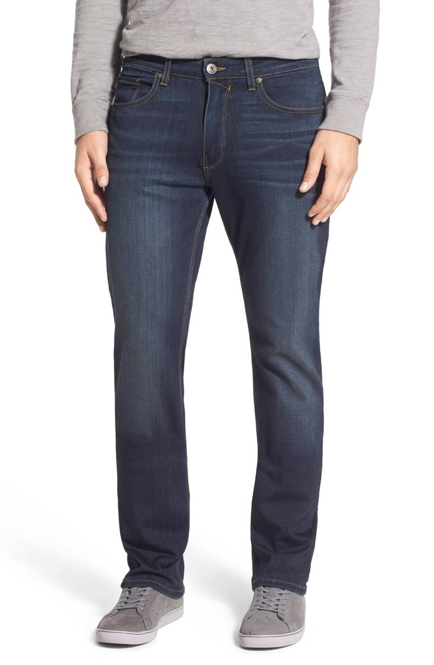 Paige Denim Normandie Straight Leg Jeans in Rigby Wash M657521-2943