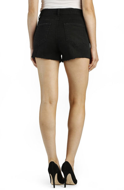 Paige Margot High Rise Short in Vintage Black 2800298-1106